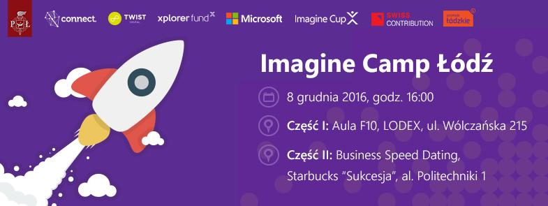 Imagine Camp Łódź WEEIA PŁ 2016